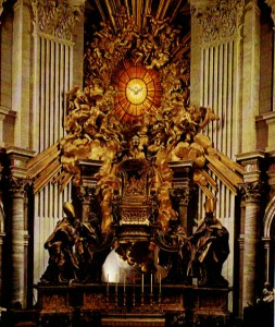 CB-Cathedra chair st. Peter
